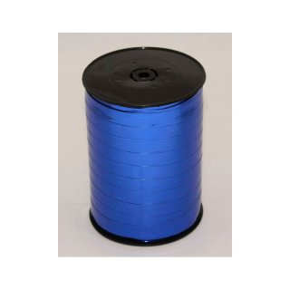 1 Glanzband metallic 9,5 mm x 250 m - kornblau